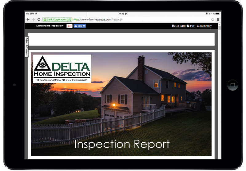 Homegauge Digital Home Inspection Report