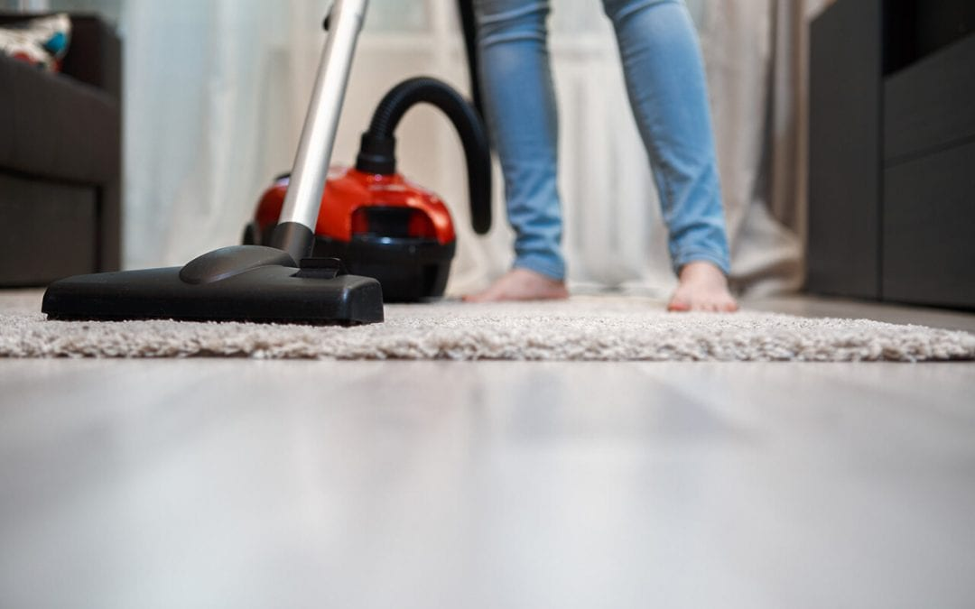 improve indoor air quality by keeping floors clean