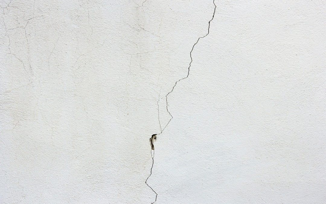 signs of structural problems include cracks in the wall